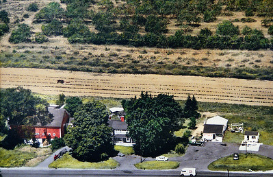 The Anderson Farm,  In front of where Shaws currently stands.
