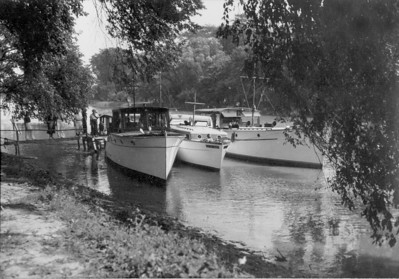 The First Club Cruise of the New Club, Huron on July 22, 1934