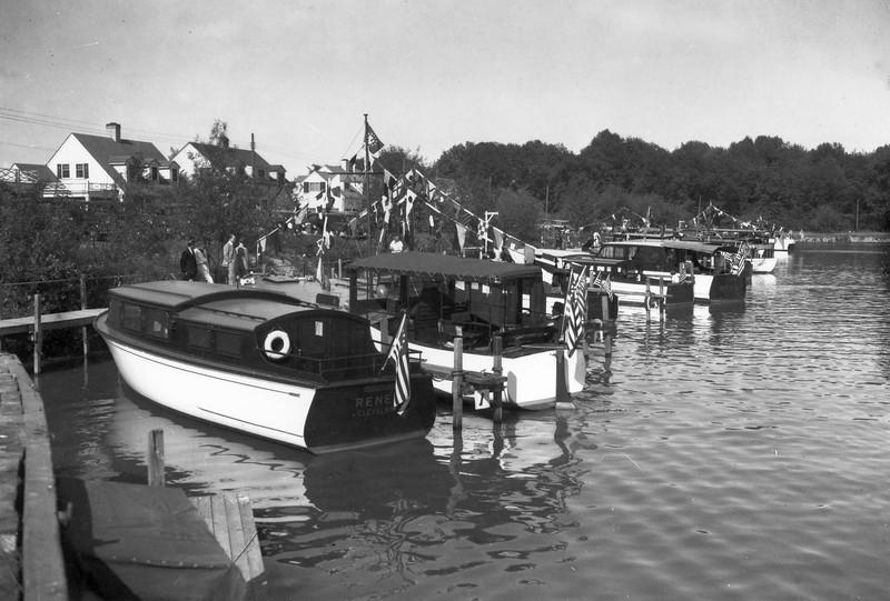 1936 South Shore Regatta, VYC Ontario Lagoon Docks