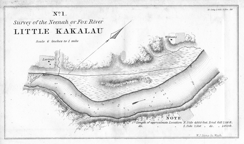Little Kakalau 1840 Historic Survey of Neenah