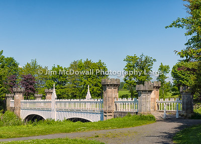 Ancient Tournament Bridge Eglinton Park Irvine Scotland.