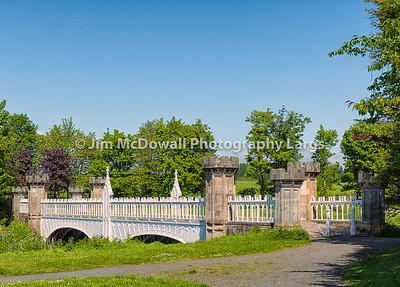 Ancient Tournament Bridge Eglinton Park Irvine Scotland.