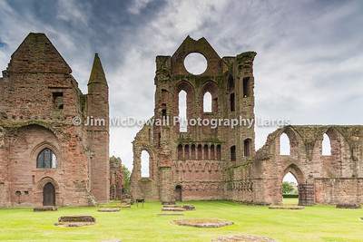 Ancient Arbroath Abbey Ruins