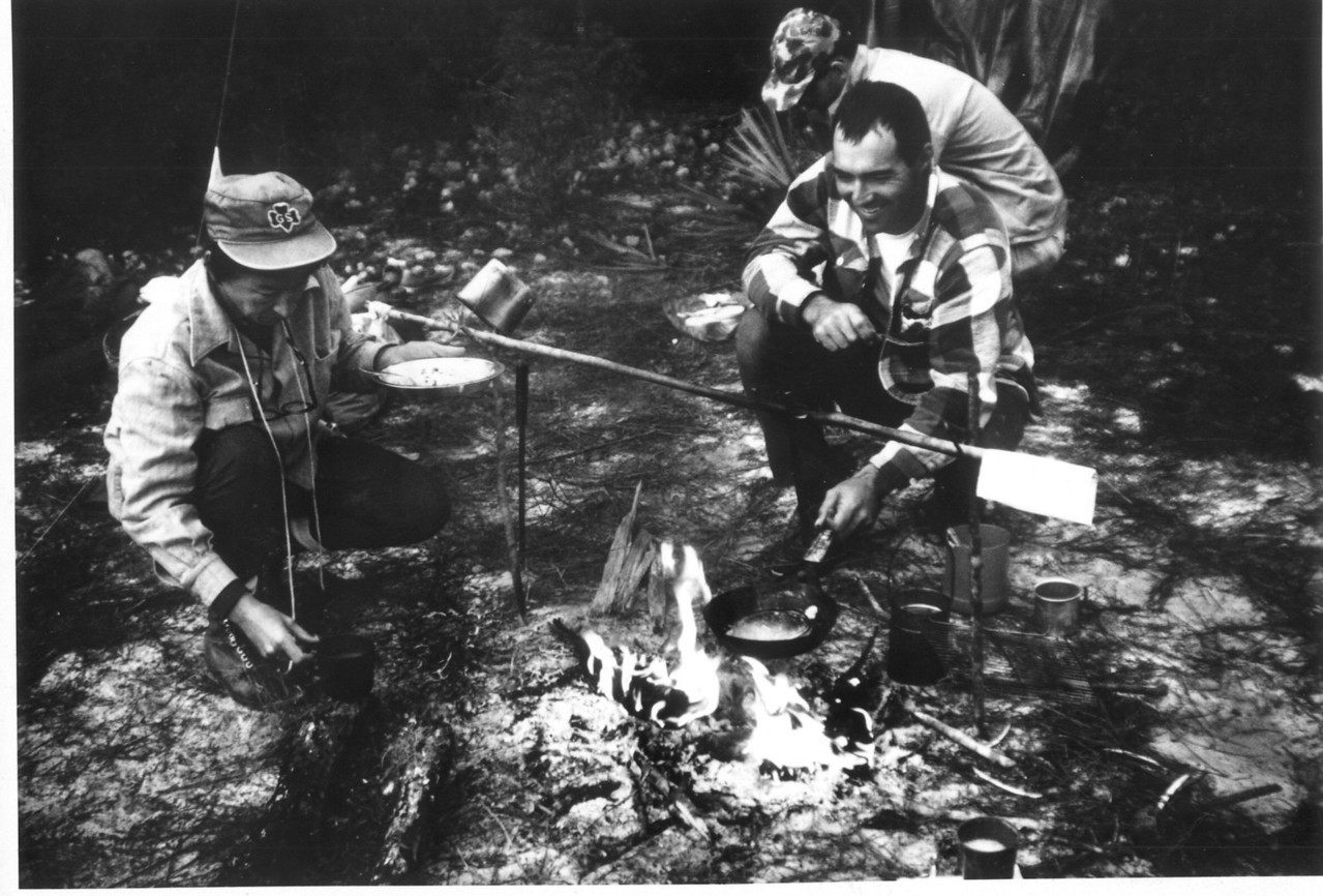 1960s Camping in the Ocala National Forest