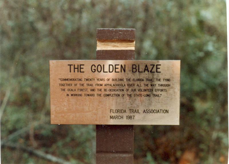 Golden Blaze Mar 87