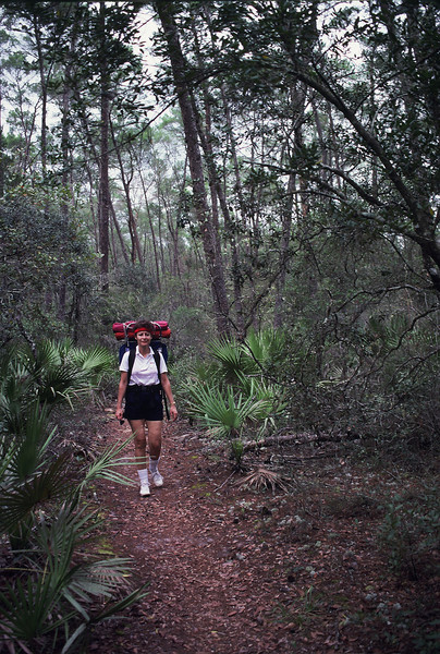 Backpacking in the Ocala National Forest<br /> James A. Kern / Florida Trail Association