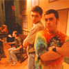 98/03/05 Oklahoma - James Neiss Photo - Niagara Wheatfield students put on Oklahoma. L-R - Kristen Rawluszki 18/12 as Laurey, Katie Isaacs 16/10 as Aunt Eller, John Tramontana 16/10th as Curly and Tom Parker 17/12 as Jud.