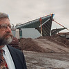 4/18/97 Buff Niag Airport 3 - James Neiss Photo - Richard T. Swist, Executive Director of the Niagara Frontier Transportation Authority.<br /> <br /> Buffalo Niagara International Airport Construction