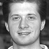 3/9/96--M&Q 2--Scott Evans, Lockport, 297-3200--tak photo--They can use their money they saved by signing somebody who is better. Why you wanna waste money for somebody who will not perform for your team?