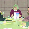 "1/16/97 All American City - James Neiss Photo - Joan Braderick, A Member of the Vision for tomorrow community building committee, speaks durring a meeting of residents and area officials to promote the idea of Niagara Falls as a candidate for the ""All American City"" status."