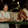 98/08/05 Dairy Princess - James Neiss Photo - Niagara-Orleans Dairy Princess Claudette Walck at the County Fair.