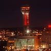 12/9/96 Casino Niagara Exterior - James Neiss Photo -  Opening night at Casino Niagara.