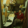 98/10/05 A. Sciolino 2 - James Neiss Photo - Anthony R. Sciolino, president of Latina Niagara Importing Co. Inc. did most of his business in a little cubby of an office. He is retiring this week.