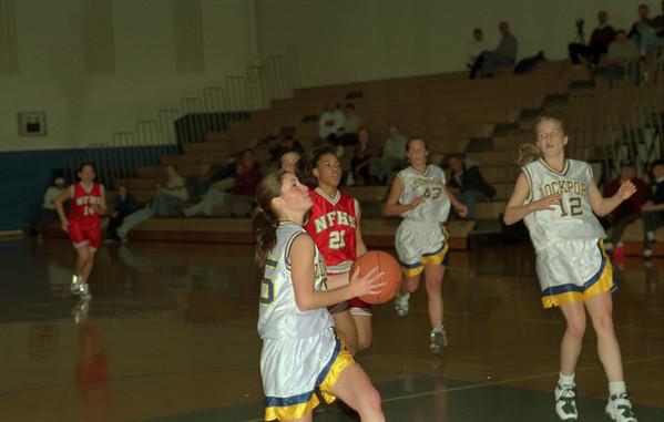 98/01/06 Girls Basketball*Dennis Stierer - Lockport vs Niagara Falls.