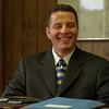 98/08/10 Albion Asst. Principal *Dennis Stierer Photo -<br /> The new Albion High School Assistant Principal,  Matthew Calderon  talks about his new position in Albion and how he hopes to work with students and teachers alike.