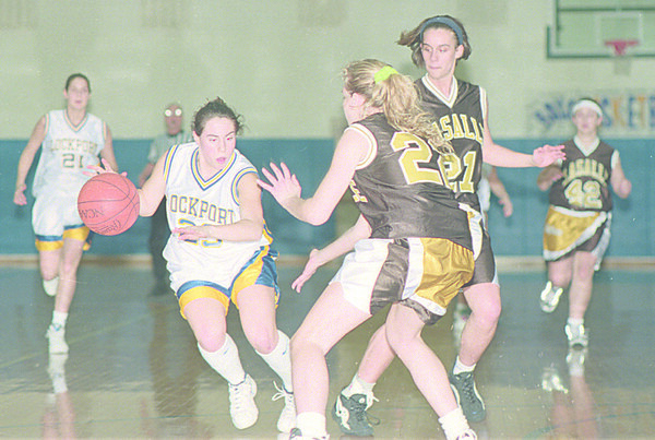 98/02/06 - Girls Basketball *Dennis Stierer photo -COLOR