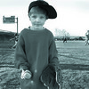4/15/97-- little leaguer-- Takaaki iwabu photo-- Dominc Jamgochian, 5, joins the practice of his brother's baseball team, LaSalle Little League Cubs, at 66th St. School Tuesday. Area's little league baseball will start its new season soon. <br /> <br /> grapevine photo