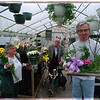 3/25/97 Easter Flowers - James Neiss Photo - Clients at the Opportunities Unlimited Day treatment Center show off some of the easter plants they grew, made and sold. L-R are: Patty Hunter, Frank Dattola and Louis Infantino, all of Wheatfield.