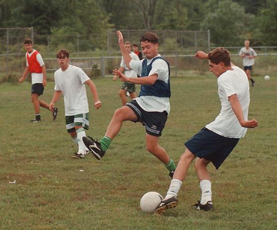 97/08/29 LewPort Soccer - James Neiss Photo - Lewport Soccer team practice.