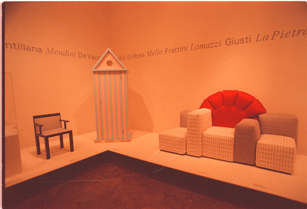 2/5/97 Albright Knox Art - James Neiss Photo - Master Works: Italian Design, 1960-1994. On exibit through March.