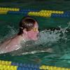 98/01/09 Lockport Swim 1 *Dennis Stierer photo - Mike Cocrrane during the 100 Breast Stroke.