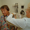 98/10/08 Flew Shot - James Neiss Photo - Laura Copia of Lewiston gets a flew shot from Diane Brodfuehrer RN at DeGraff Memorial Hospital.