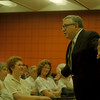 98/05/02 LaFalce Town Meeting - Congressman John LaFalce held a Town Meeting at Niagara Community College where voters could voice their concerns.