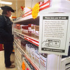 2/15/97 Smoking Law - James Neiss Photo - Fay's Drug store posted notification stating that purchasers of Cigaretts will have to produce ID if they look under 26yrs starting FEB, 28th.