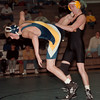 98/12/09 LASALLE WRESTLING--DAN CAPPELLAZZO PHOTO--130LBS CLASS JON EAGAN, LASALLE UPENDS KEVIN ROHDE, OF LKPT.