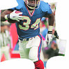 10/8/9--THOMAS--DAN CAPPELLAZZO PHOTO--BILLS RUNNING BACK THURMAN THOMAS PULLS AWAY FROM JETS DE MARVIN WASHINGTON ON A 26 YR CARRY IN THE FIRST QUARTER.<br /> <br /> SPORTS FOLDER