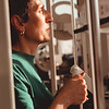 98/02/25--FITNESS 4--DAN CAPPELLAZZO PHOTO--MAY JOWDY WORKS THE MACHINES AT THE Y WEIGHT EXERSIZE ROOM.<br /> <br /> SUNDAY