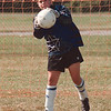 97/08/20 LaSalle Girls Soc 5 - James Neiss Photo - Goalie Nichole Signorelli stops a fast one durring practice.