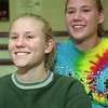 98/12/10 Albion Soccer Star-Rachel Naber Photo-Jeanine Baron (left) and Kerri Ernewein were named N-O All Star althletes for '98 fall soccer season.