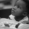 1/16/97--CHILD IN CLASS--CAPPY PHOTO--4-YR-OLD SHAQUANNA KNIGHTON LISTENS TO THE TEACHER DURING A HEADSTART PROGRAM AT ABATE SCHOOL.<br /> <br /> GR