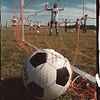 97/08/20 LaSalle Girls Soccor - James Neiss Photo - Jumping jack break durring practice.