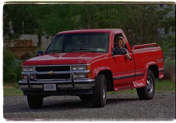 97/08/06/ Pat Harms Truck 2 -James Neiss Photo - Town of Niagara.