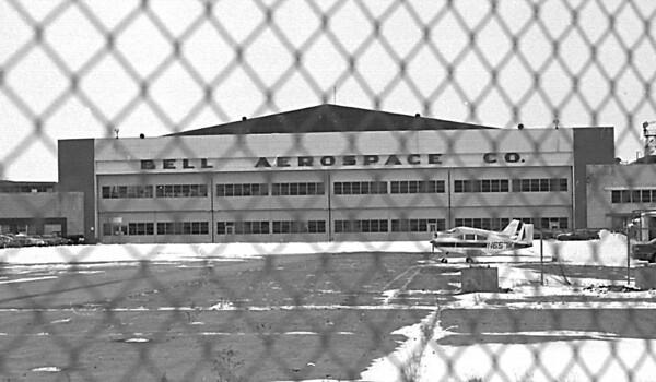 1/13/97 Bell Aerospace - James Neiss Photo -  Former Bell Aerospace Building.