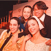 "3/11/97-- LaSalle drama 1--Takaaki Iwabu photo-- Main characters in ""Bye Bye Birdie"" by LaSalle HS. From left to right, Ben Puglisi, Angela Cerrone, Mary Santora and Jonathan Trinidad. <br /> <br /> N&D/ Friday feature"