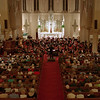"98/10/01 BPO Performs *Dennis Stierer Photo -<br /> The Buffalo Philharmonic Orchestra played before a sold out very appreciative crowd last night at St. Mary's Church in Medina. This photo was taken during their opening number entitled ""Festive Overture, Op.96""."