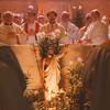 98/04/24-- Polish Mass --Takaaki Iwabu photo-- Polish-American bishops conduct a mass Friday at St. Stanislaus Kostka RC Church to end their week-long convention in Niagara Falls. <br /> <br /> local, bw, Saturday