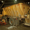 98/12/01 Salt Truck - James Neiss Photo - Steve Marchetti, a city Mechanic, gives a salt truck a break job in preperation for the winter season.