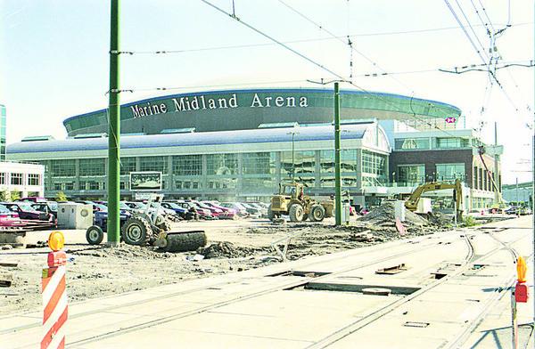 9/19/96 Marine Midland Arena - James Neiss Photo -