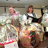 "98/09/09 Fashion Basket-Rachel Naber Photo-Susan Wendler, Janet Campagna, Eileen Breloff, and Ellen Schratz committe members helping with the Lockport Memorial Hospital benefit, ""Celebrate with Style""."
