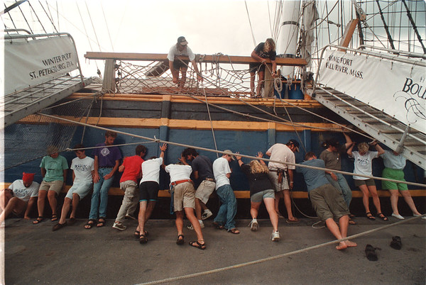 7/3/97 HMS Bounty - James Neiss Photo