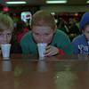 98/02/06 Winterfest 2 *Dennis Stierer photo - Taking a break from activities during Lockport's Winterfest to enjoy some hot chocolate are Byron Junke,11;  Nick Rubert,10;  Andrew Assinaro,10.