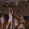 98/02/06 - Girls B'ball (B/W)  *Dennis Stierer photo