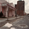 2/27/97-- wind accident 3-- Takaaki iwabu photo-- Falls Street Fair building got damaged by strong wind and the traffic was closed temporarily.