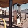 4/18/97 -- empty gas pump--takaaki iwabu photo-- The gas station at Smokin Joe has been a quiet place since .......... (when this problem started). Picture for the up-date story on Indian business.
