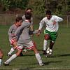 97/09/24 NT at LewPort 2 - James Neiss Photo - LewPort #5 Matt Leardini handles the ball in the first half.