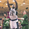 1/18/97-- NU basket 2--Takaaki Iwabu photo-- Chris Watson led the NU with 34 points.......